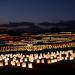光の地上絵「うみなかクリスマス キャンドルナイト」海の中道海浜公園