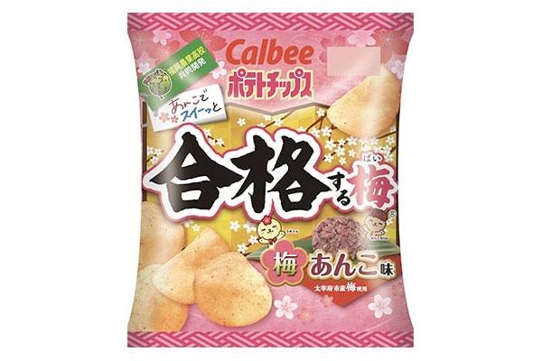 梅あんこ味ポテトチップス