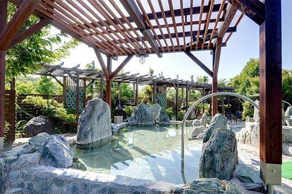 最高の湯の露天風呂